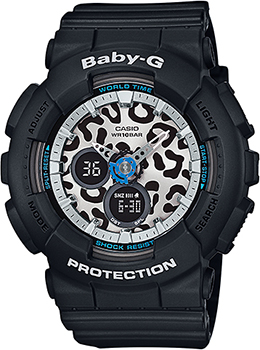 Casio Часы Casio BA-120LP-1A. Коллекция Baby-G casio baby g ba 110 1a