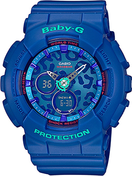 Casio Часы Casio BA-120LP-2A. Коллекция Baby-G casio часы casio ba 110nc 2a коллекция baby g