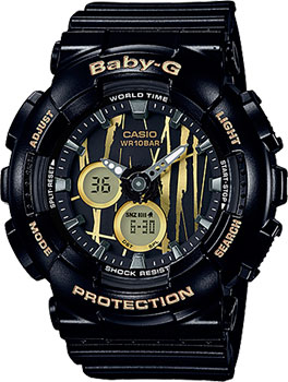 Casio Часы Casio BA-120SP-1A. Коллекция Baby-G часы наручные casio часы baby g ba 111 1a