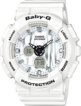 Casio Часы Casio BA-120SP-7A. Коллекция Baby-G часы наручные casio часы baby g ba 120 7b