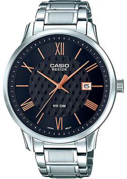 Casio Часы Casio BEM-154D-1A. Коллекция Beside casio w 753 1a