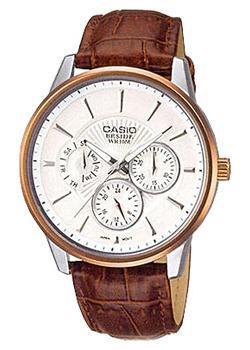 Casio Часы Casio BEM-302L-7A. Коллекция Beside casio часы casio bem 154d 7a коллекция beside