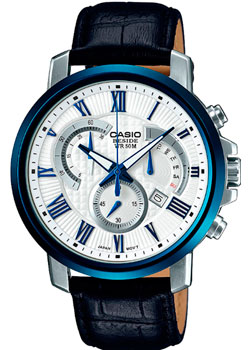 Casio Часы Casio BEM-520BUL-7A1. Коллекция Beside casio mtp tw100l 7a1