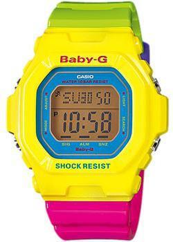 Casio Часы Casio BG-5607-9E. Коллекция Baby-G casio bg 6903 7c