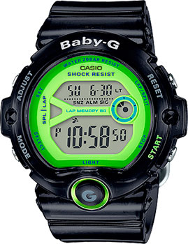 Casio Часы Casio BG-6903-1B. Коллекция Baby-G casio часы casio bg 6903 2e коллекция baby g