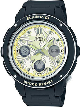 Casio Часы Casio BGA-150F-1A. Коллекция Baby-G casio часы casio bga 180 9b коллекция baby g