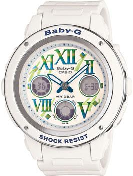 Casio Часы Casio BGA-150GR-7B. Коллекция Baby-G casio часы casio bga 110tr 7b коллекция baby g