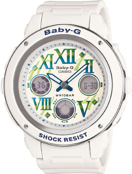 Casio Часы Casio BGA-150GR-7B. Коллекция Baby-G наручные часы casio bga 110 7b