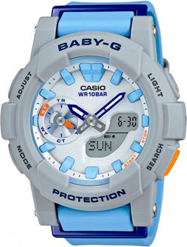 Casio Часы Casio BGA-185-2A. Коллекция Baby-G casio bga 185fs 2a page 8