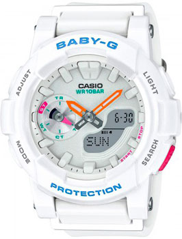 Casio Часы Casio BGA-185-7A. Коллекция Baby-G casio sheen multi hand shn 3013d 7a
