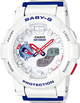 Casio Часы Casio BGA-185TR-7A. Коллекция Baby-G casio baby g bga 185 4a