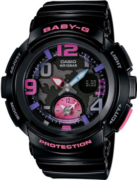 Casio Часы Casio BGA-190-1B. Коллекция Baby-G lge2132 bga