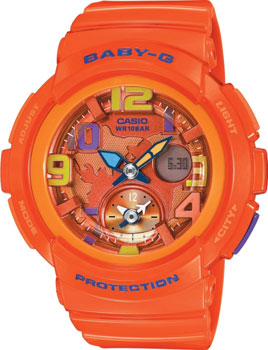 Casio Часы Casio BGA-190-4B. Коллекция Baby-G monbento