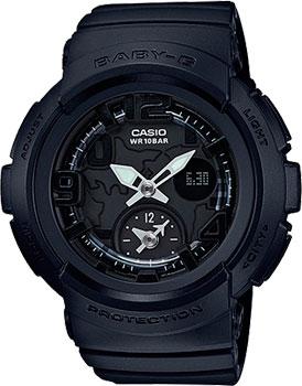 Casio Часы Casio BGA-190BC-1B. Коллекция Baby-G casio часы casio bga 190 1b коллекция baby g