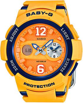 Casio Часы Casio BGA-210-4B. Коллекция Baby-G casio часы casio bga 180 7b1 коллекция baby g