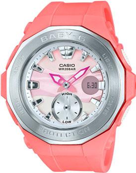 Casio Часы Casio BGA-220-4A. Коллекция Baby-G часы наручные casio часы baby g ba 120tr 7b