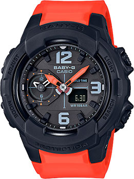 Casio Часы Casio BGA-230-4B. Коллекция Baby-G casio часы casio bga 150ef 4b коллекция baby g
