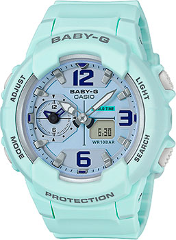 Casio Часы Casio BGA-230SC-3B. Коллекция Baby-G satin furniture стол круглый