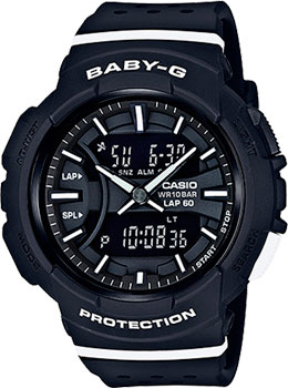 Casio Часы Casio BGA-240-1A1. Коллекция Baby-G casio baby g bga 240 7a