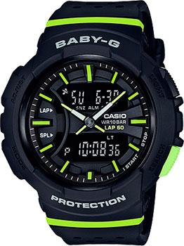 Casio Часы Casio BGA-240-1A2. Коллекция Baby-G casio baby g bga 240 7a