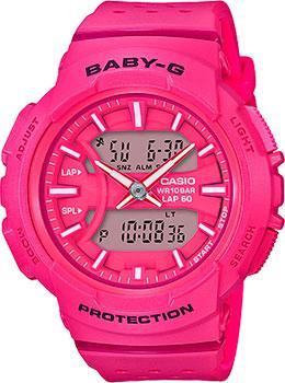Casio Часы Casio BGA-240-4A. Коллекция Baby-G casio baby g bga 240 7a