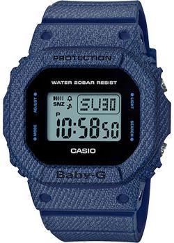 Casio Часы Casio BGD-560DE-2E. Коллекция Baby-G мужские часы casio dw 6900zb 2e