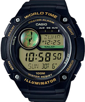 Casio Часы Casio CPA-100-9A. Коллекция Digital casio cpa 100d 1a