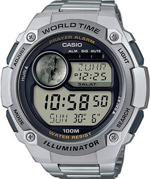 Casio Часы Casio CPA-100D-1A. Коллекция Digital мужские часы casio cpa 100d 1a
