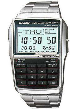 Casio Часы Casio DBC-32D-1A. Коллекция Digital casio dbc 611 1d
