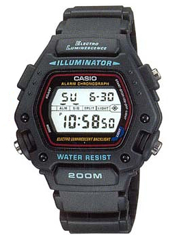 Casio Часы Casio DW-290-1V. Коллекция Digital casio outgear sgw 100 1v