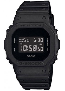 Casio Часы Casio DW-5600BB-1E. Коллекция G-Shock часы g shock dw 5600hr 1e casio