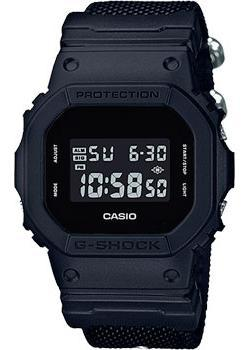 Casio Часы Casio DW-5600BBN-1E. Коллекция G-Shock часы g shock dw 5600hr 1e casio