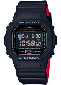 Фото - Casio Часы Casio DW-5600HR-1E. Коллекция G-Shock casio часы casio dw 6900zb 3e коллекция g shock