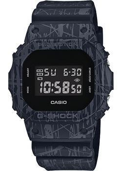 Casio Часы Casio DW-5600SL-1E. Коллекция G-Shock часы g shock dw 5600hr 1e casio