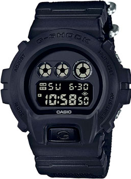 Casio Часы Casio DW-6900BBN-1E. Коллекция G-Shock часы g shock dw 5600hr 1e casio