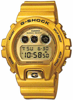 Фото - Casio Часы Casio DW-6900GD-9E. Коллекция G-Shock casio часы casio dw 6900zb 3e коллекция g shock
