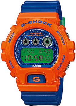 Casio Часы Casio DW-6900SC-4E. Коллекция G-Shock casio g shock s series gmd s6900f 4e