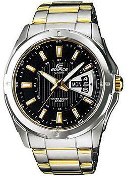 Casio Часы Casio EF-129SG-1A. Коллекция Edifice casio edifice ef 316d 1a