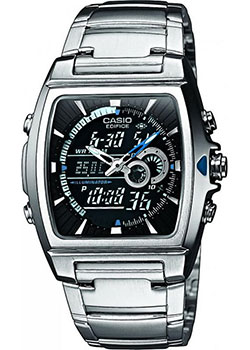 Casio Часы Casio EFA-120D-1A. Коллекция Edifice casio efa 132pb 1a