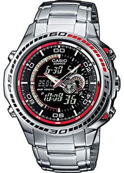 Casio Часы Casio EFA-121D-1A. Коллекция Edifice casio efa 132pb 1a