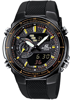 Casio Часы Casio EFA-131PB-1A. Коллекция Edifice casio efa 132pb 1a