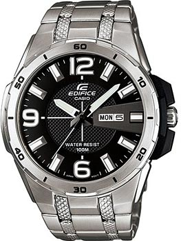 Casio Часы Casio EFR-104D-1A. Коллекция Edifice casio edifice era 201bk 1a