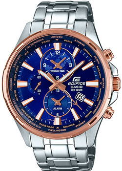 Casio Часы Casio EFR-304PG-2A. Коллекция Edifice casio часы casio efr 539rb 2a коллекция edifice infiniti red bull racing