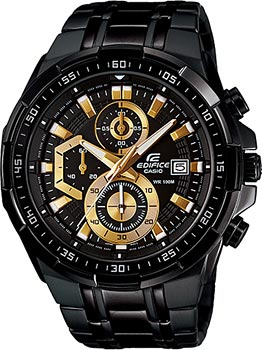 Casio Часы Casio EFR-539BK-1A. Коллекция Edifice casio edifice ef 316d 1a