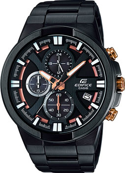 Casio Часы Casio EFR-544BK-1A9. Коллекция Edifice cybex cybex автокресло cbx aura fix isis fix rumba red