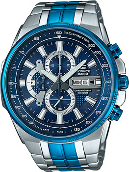 Casio Часы Casio EFR-549BB-2A. Коллекция Edifice casio edifice efr 555l 2a
