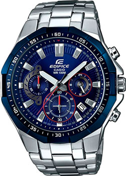 Casio Часы Casio EFR-554RR-2A. Коллекция Edifice casio edifice efr 546c 2a