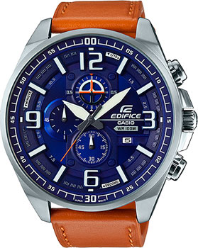 Casio Часы Casio EFR-555L-2A. Коллекция Edifice casio edifice efr 559db 2a
