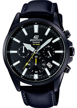 Casio Часы Casio EFV-510BL-1A. Коллекция Edifice casio edifice ef 316d 1a