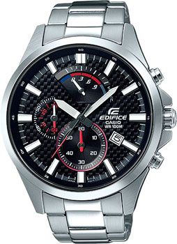 Casio Часы Casio EFV-530D-1A. Коллекция Edifice casio edifice ef 316d 1a